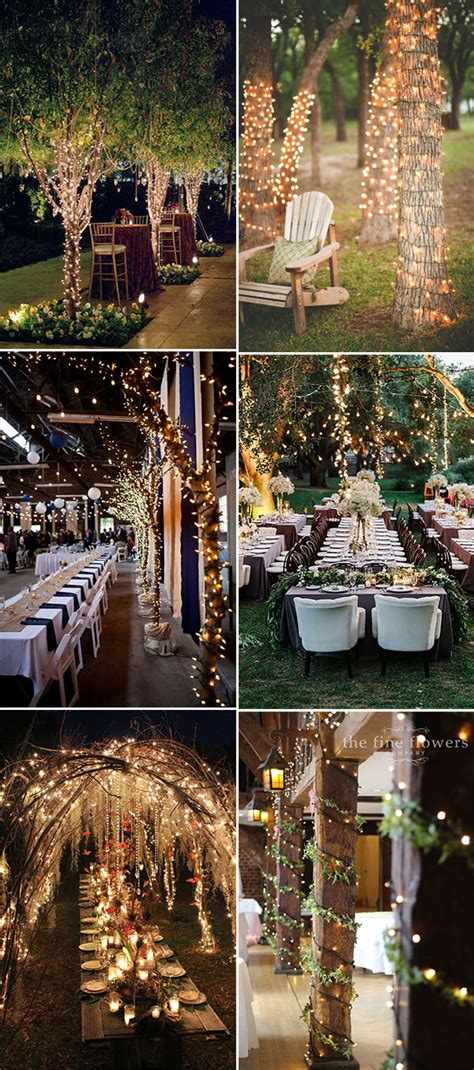 stunning creative string lights wedding decor ideas stylish wedd blog