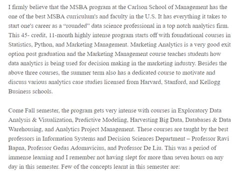 Mba Vs Ms Business Analytics Vs Ms Data Science