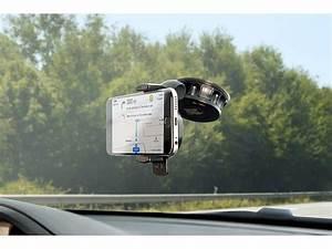 Handyhalterung Fürs Auto : lescars handyhalterung auto kfz saugnapf smartphone ~ Jslefanu.com Haus und Dekorationen