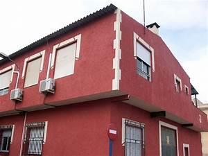 Foto: Monocapa Color Rojo y Marfil de Estucados Javier