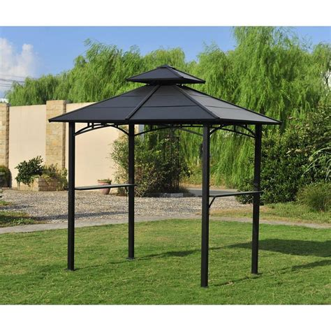 rona gazebo metal roof pergola design ideas