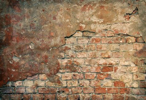 rustic  damaged brick wall backdrop vinyl cloth high
