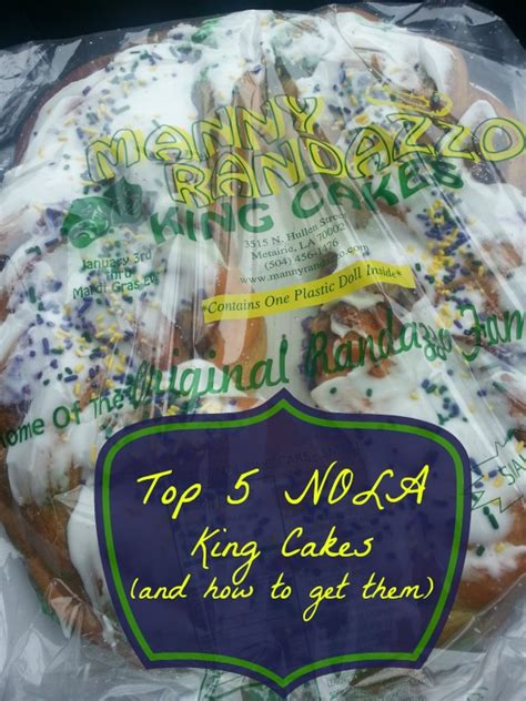 top  places   king cake   orleans