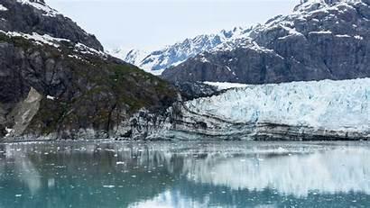 Alaska Lake Spring Background Rock Glacier Bay