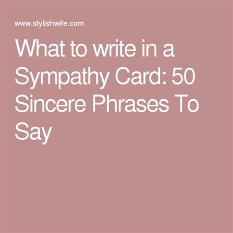 what to write on a sympathy card 17 best ideas about sympathy gifts on pinterest memorial quotes memorial poems and sympathy