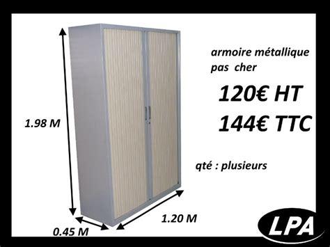 Armoire Vestiaire M Tallique Pas Cher by Armoire M 233 Tallique Haute Pas Cher Armoire Haute