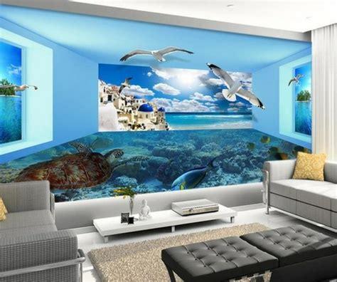 Fototapete 3d Wohnzimmer by 3d Tapete F 252 R Eine Tolle Wohnung