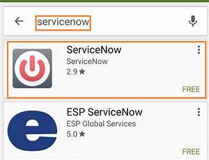 User guide on ServiceNow Mobile App | Information ...