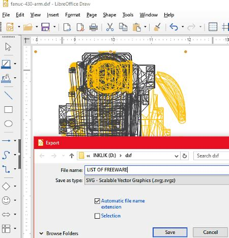 Upload your file, typically an image file such as png or jpg. 8 Best Free DXF to SVG Converter Software for Windows