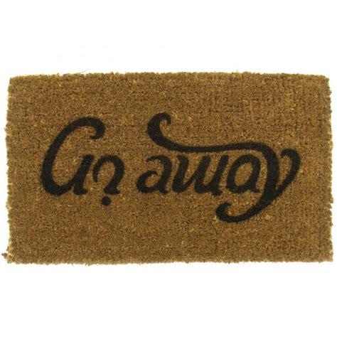 come in get out doormat ambigram doormat come in go away iwoot