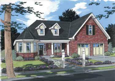 Delightful Design (HWBDO12966) Cottage House Plan from