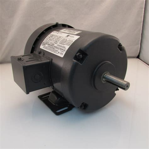 Emerson Electric Motors by Emerson 1 2 Hp 1725 230 460 3ph Electric Motor