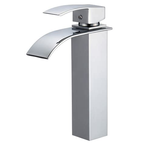 piatti tall contemporary single hole bathroom faucet