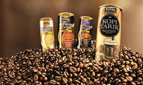 wonda coffee promotes  kopi tarik range marketing