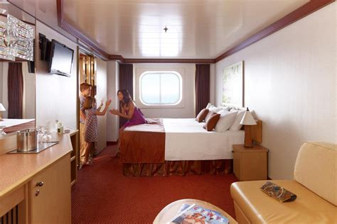 carnival magic deluxe ocean view floor plan floor matttroy