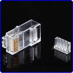 Rj45 Connector Cat6 Rj45 Ethernet Cable Plug Utp 8p8c