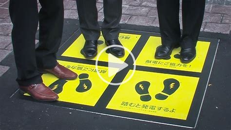 Let's Generate Electricity by Walking! - Our World
