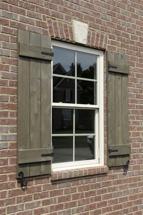 custom shutters  hardware