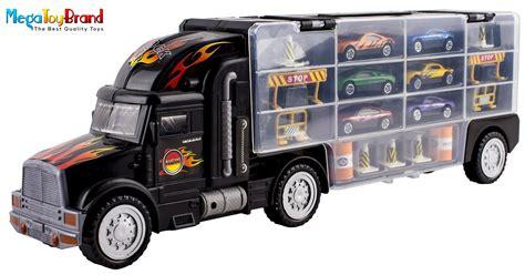 Matchbox Cars Transport Semi Truck 28 Slots Hot Wheels