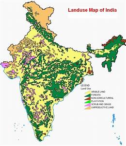 Land Use Map Of India  National Institute Of Hydrology