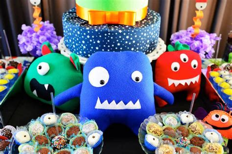 karas party ideas monsters aliens themed birthday party