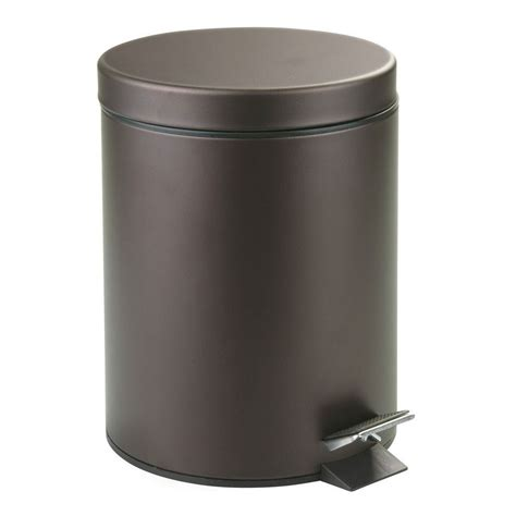 Bathroom Trash Can with Lid in Small Trash Cans