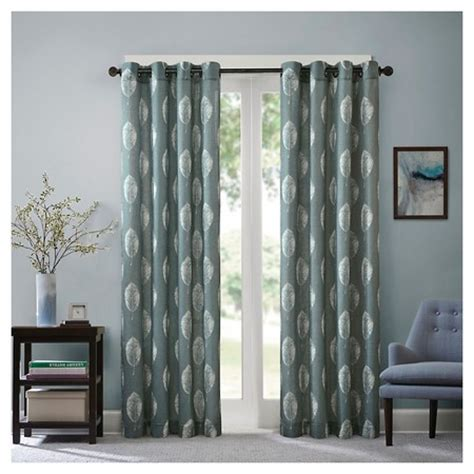 target side window curtains embroidered window curtain panel target