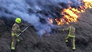 West Yorkshire And Greater Manchester Firefighters Tackle