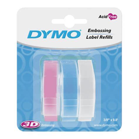 color label maker 3pk dymo 3 8 pastel color label maker 9mm 1741672