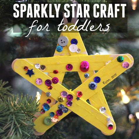 toddler approved sparkly craft for toddlers 936 | sparkly%2Bstar%2Bcraft%2Bfor%2Btoddlers%2Bsquare
