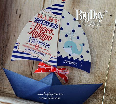 Imagenes De Barcos Para Baby Shower by Invitaciones Baby Shower Tem 225 Tica N 225 Utica Yurem