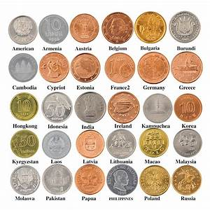 30 Coins Collection Set From Different 30 Countries Fine