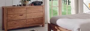 Commode Pour Chambre : commode chambre bois brut ~ Teatrodelosmanantiales.com Idées de Décoration