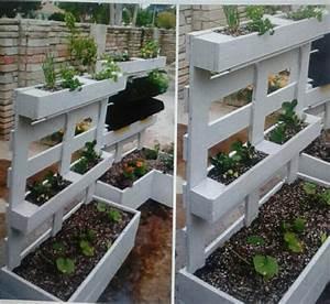 jardini re avec une palette les id es de clochette - Fabriquer Une Jardiniere Avec Des Palettes