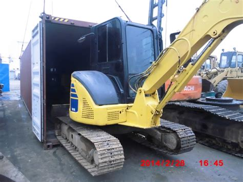 ton komatsu mini excavator shanghai qinwo trading