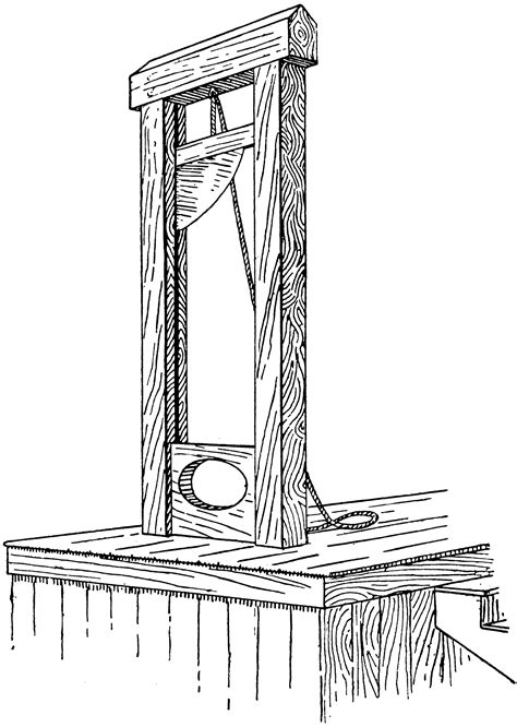 guillotine clipart