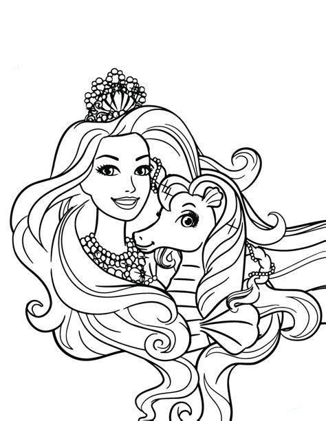 Dibujos Para Colorear Imprimir Dibujos De Barbie Para Colorear E Imprimir