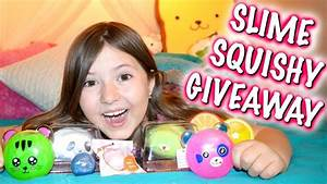 MOCHI SEAL SQUISHIES AND SLIME PACKAGE & GIVEAWAY! (CLOSED ...
