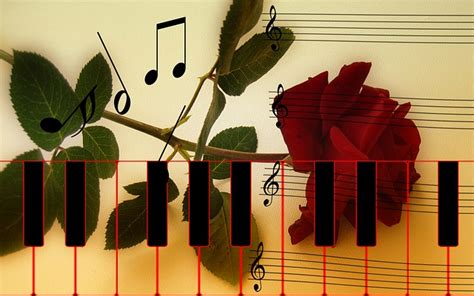 rose piano keys  image  pixabay