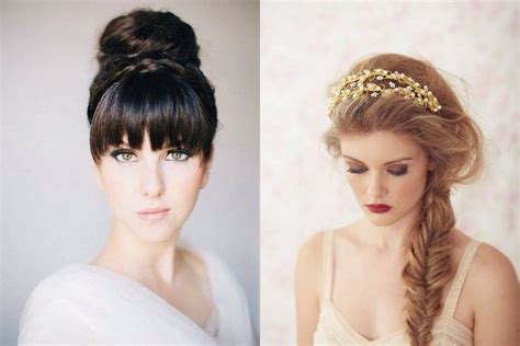 top tips to find the wedding hairstyle for your shape wedding