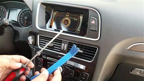 remove radio navigation display  audi