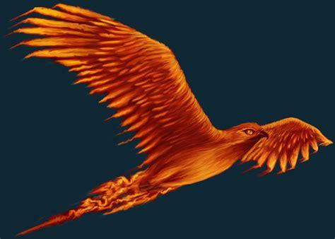 flying phoenix background glib experience apocalyptic