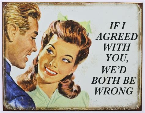 agreed   wed   wrong tin metal sign