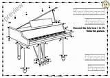 Keyboard Instrument Dot Piano Dots Instruments Each Contains Presse Toyota Dk Form Pdf Worksheets sketch template