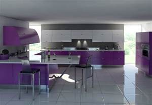 kitchen furniture designs purple kitchens