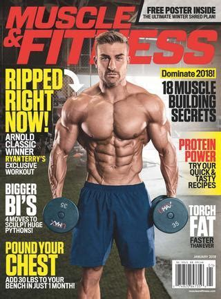 Muscle Fitness February 2018 Usa By Hasan20 Issuu | Black ...