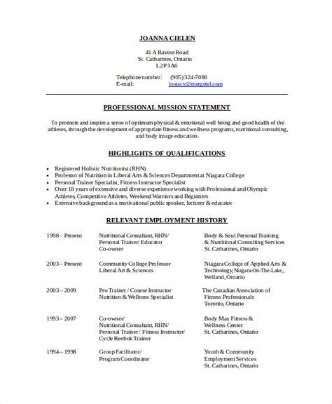 Dietitian Resume by Sle Dietitian Resume Templates Ghostwriternickelodeon