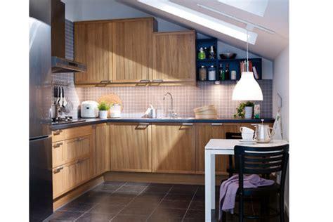 ikea cuisine en bois cuisine ikea suivez le guide côté maison
