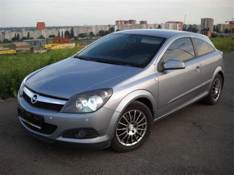 Opel Astra 2008 by Used 2008 Opel Astra Photos 1600cc Gasoline Ff