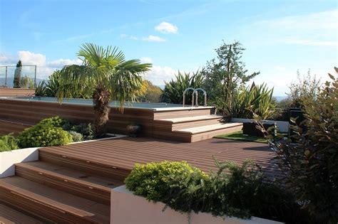am 233 nagement d une terrasse avec piscine mon jardin en ligne